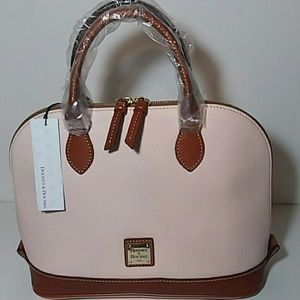 NWT DOONEY & BOURKE ZIP ZIP SATCHEL BLUSH